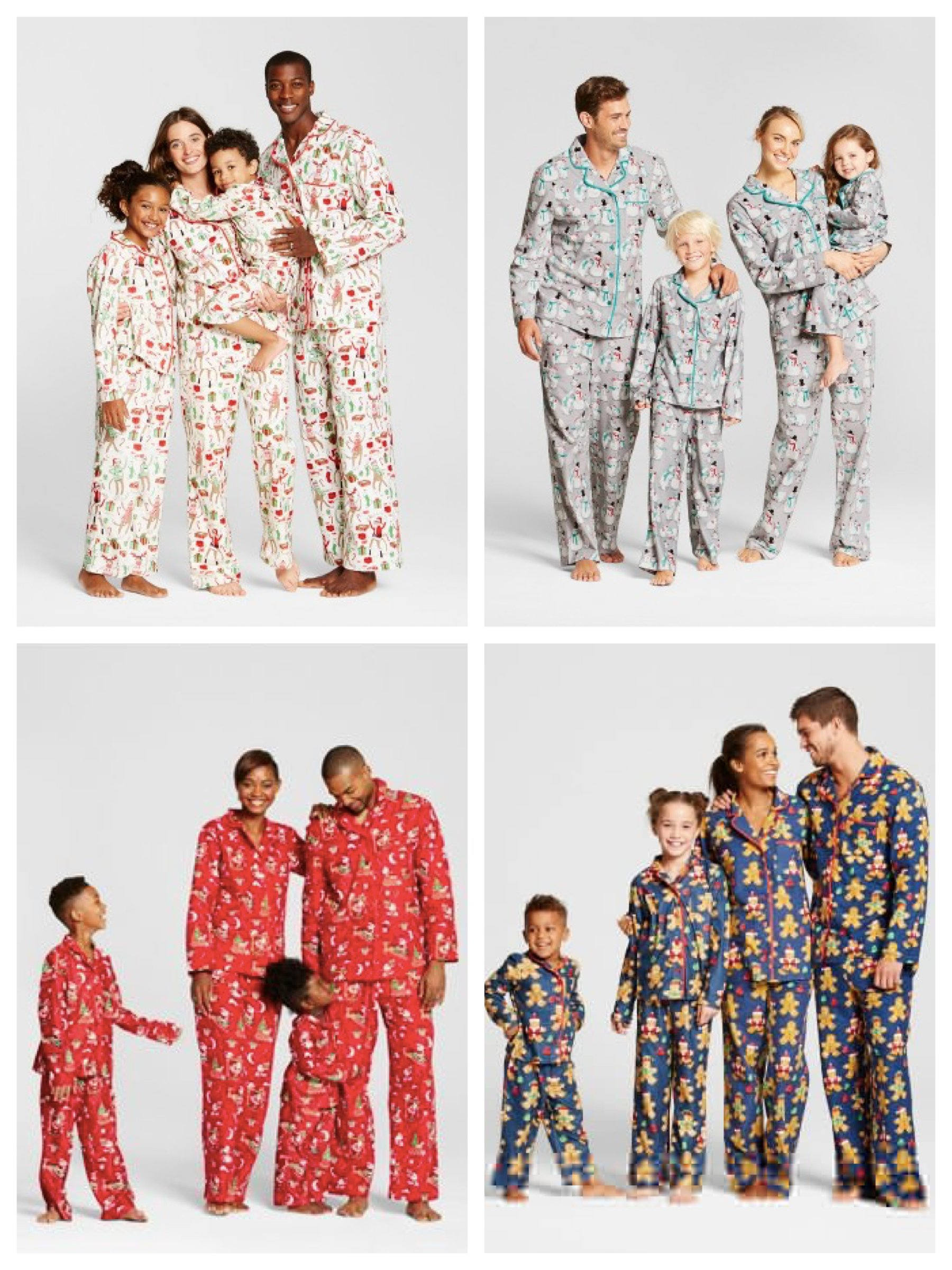 Target Family Matching Christmas Pajamas