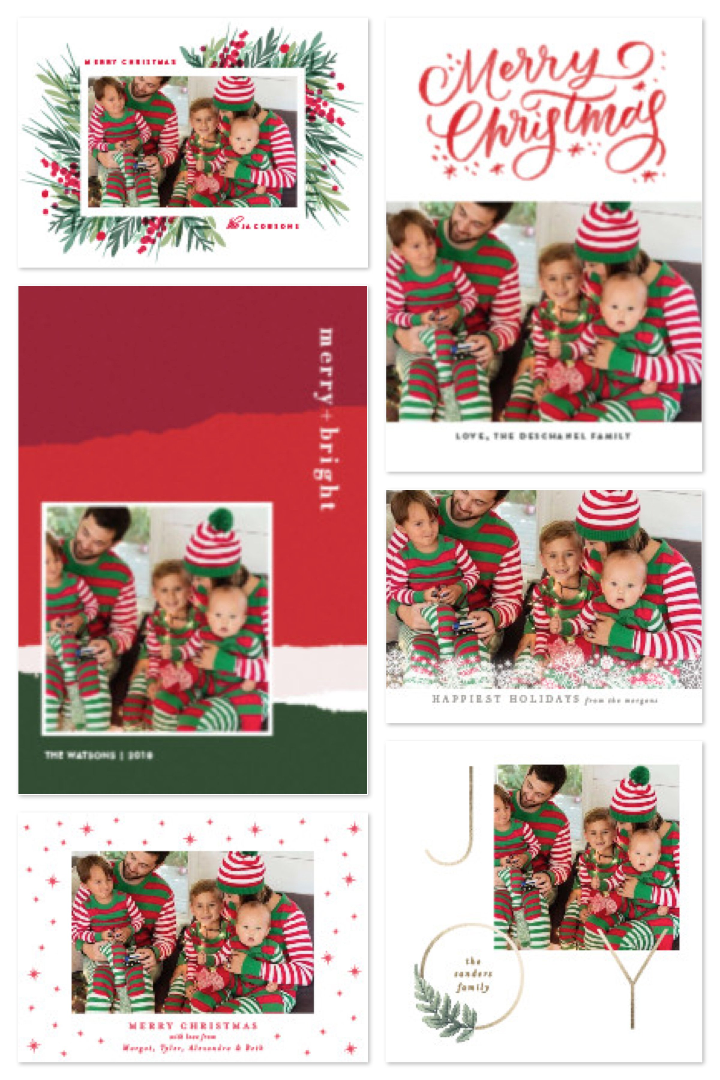 Matching Family Pajama Holiday Cards. This year 0b5d0819c