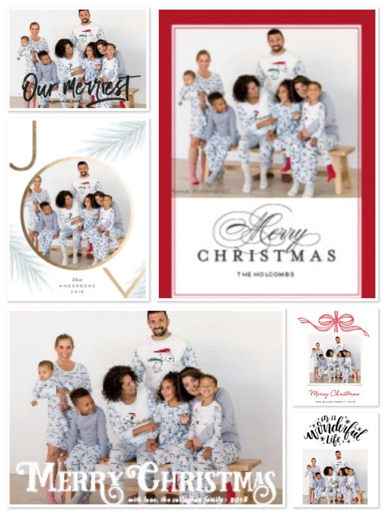 Holiday Cards with Family Matching Pajamas. A few of ... 7dd7d587f