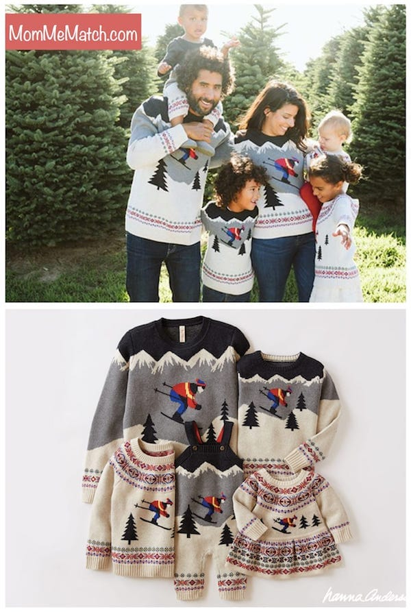 Hanna Andersson Ski Family Sweaters