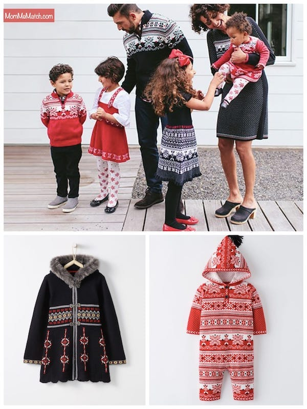 Hanna Andersson Snow Matching Family Sweaters