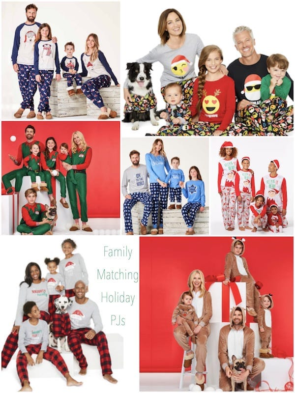 Family Matching Holiday Pajama Deals JCPenney
