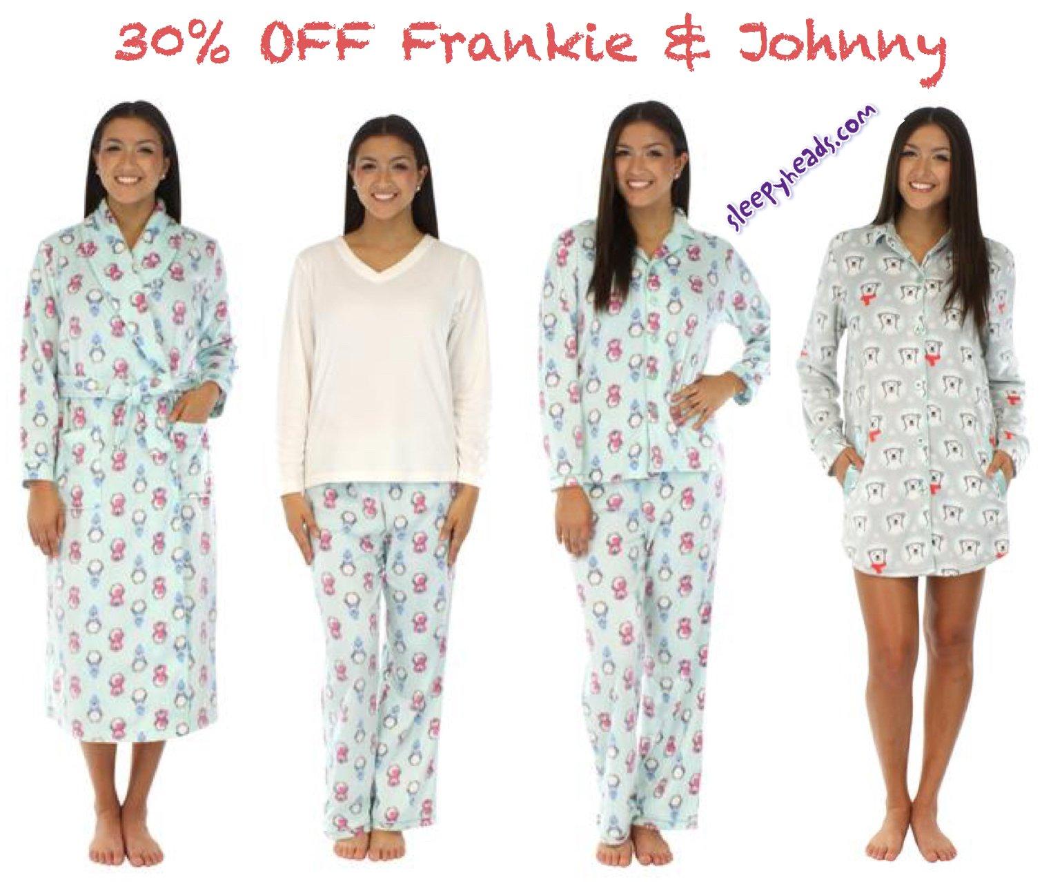 Frankie & Johnny Sale From Sleeypheads.com