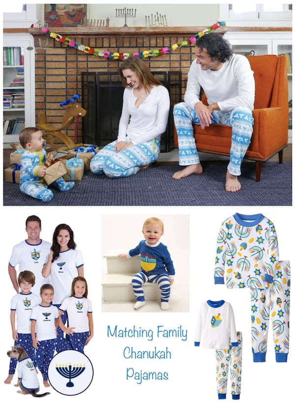 Matching Family Hanukkah Pajamas