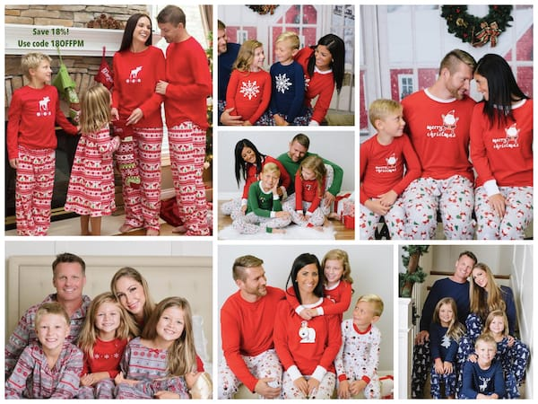 PajamaMania Matching Family Pajama Deals
