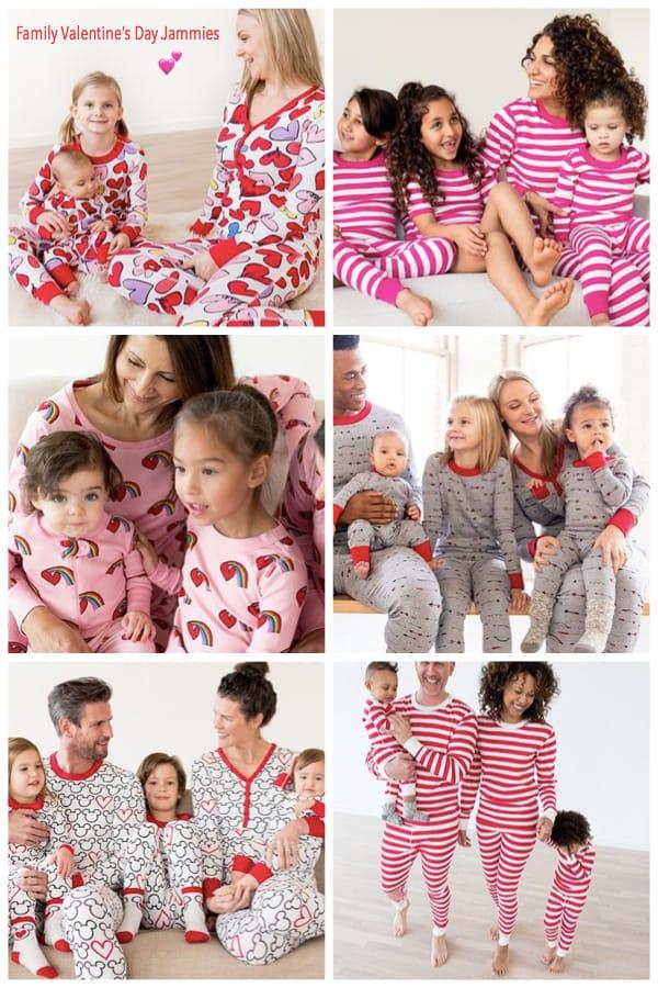 Family Valentines Day Pajamas