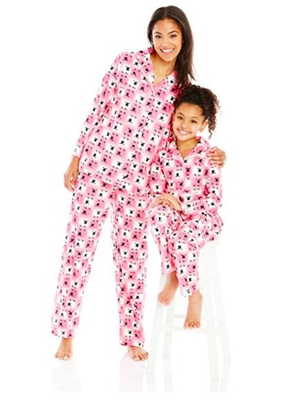 Mother Daughter Sheep Pajamas