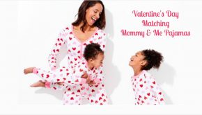 Valentines Day Matching Mommy and Me Pajamas