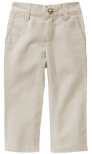 Boys Twill Pants