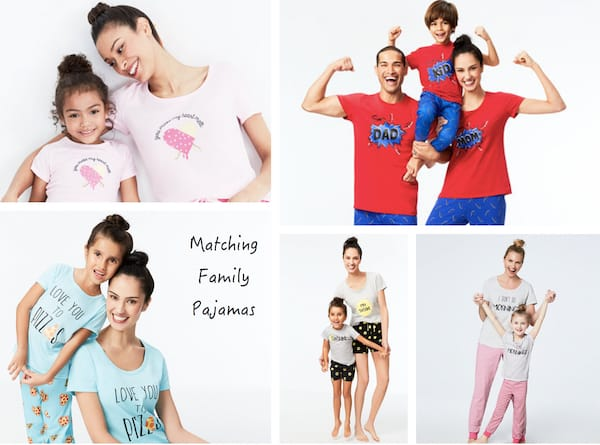Matching Family Summer Pajamas from Macys