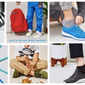 Let's Ditch Our Laces, #LifeWithoutLaces