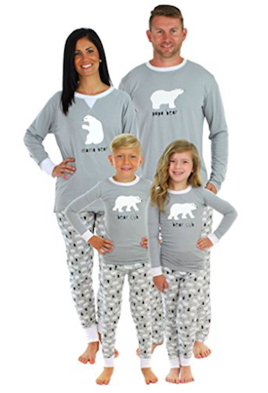 d0ab106fab Christmas Snowflake Pajamas · Bear Family Matching Pajama Set ...