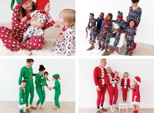 Hanna Andersson Elves, Gnomes & Santas Family Matching Holiday Pajamas