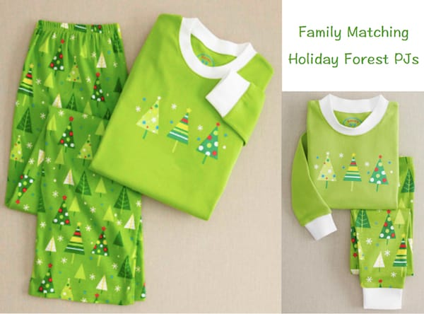 Family Matcing Holiday Forest PJs
