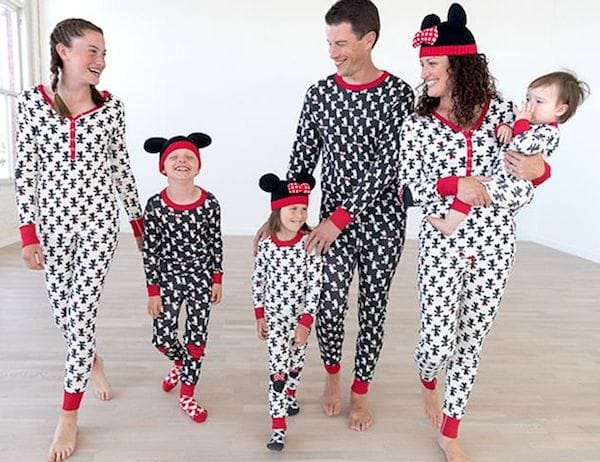Family Matching Mickey Mouse Holiday Pajamas
