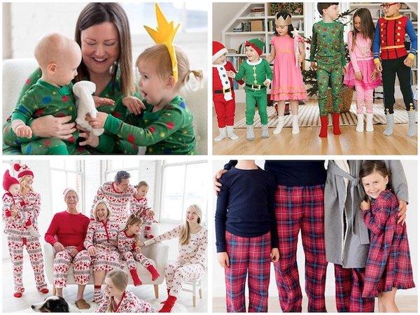 Hanna Andersson Festive Family Matching Holiday Pajamas