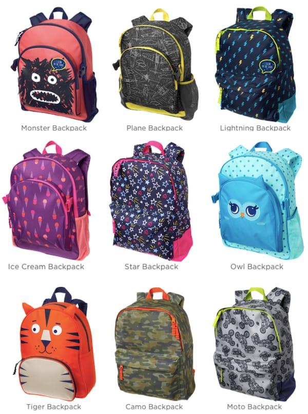 Gymboree Backpacks