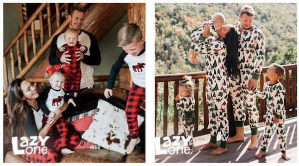 Holiday Sleepwear for the Family.