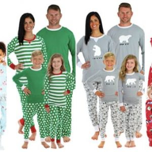 Holiday Matching Family Pajamas