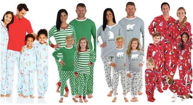 Holiday Matching Family Pajamas