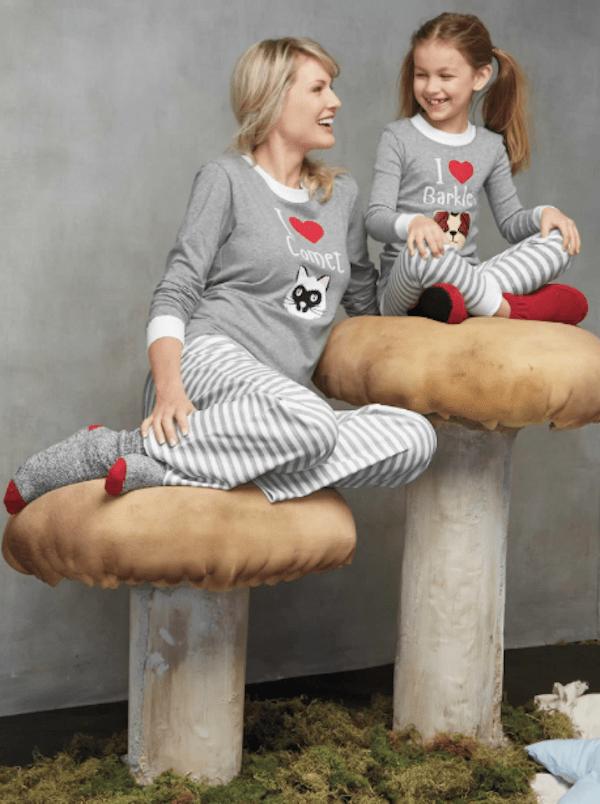 I Heart My Pet Matching Family Pajamas