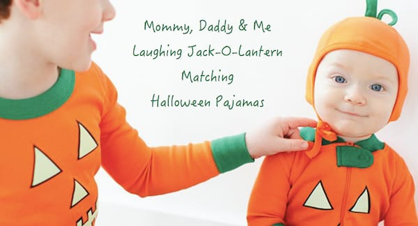 Matching Family Laughing Jack-O-Lantern Halloween Pajamas