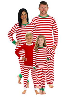 Red Stripe Family Matching Pajama Set