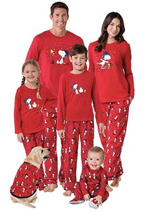 Snoopy & Woodstock Matching Family Pajamas