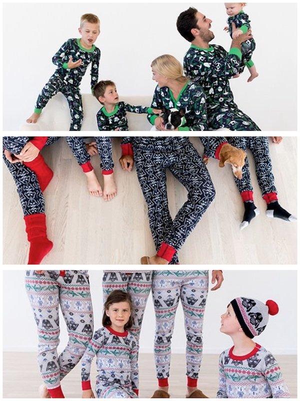 Hanna Andersson Star Wars Family Matching Holiday Pajamas