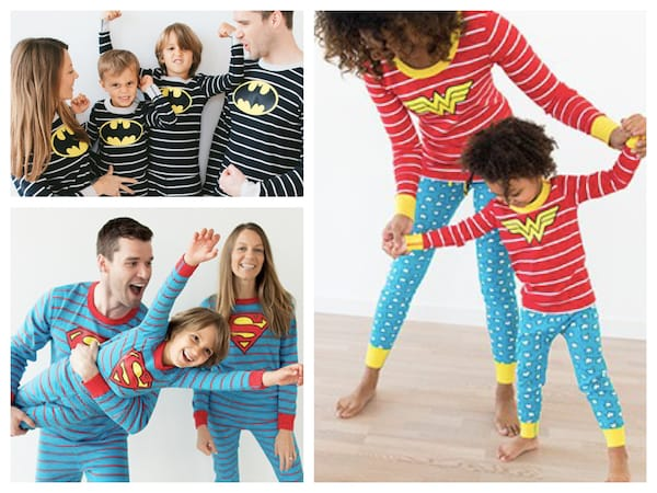 Superhero Matching Family Pajamas