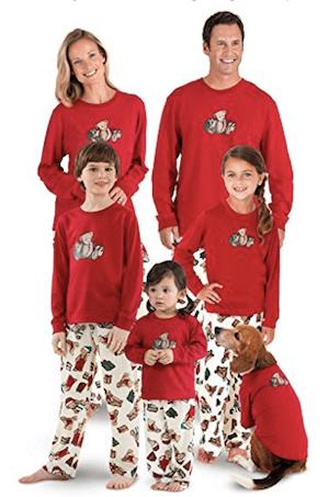 Vermont Teddy Bear Christmas Matching Family Pajamas