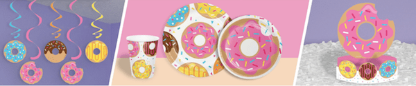 Donut Time Birthday Party Supplies