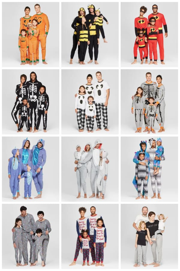 Family Halloween Pajamas Collection