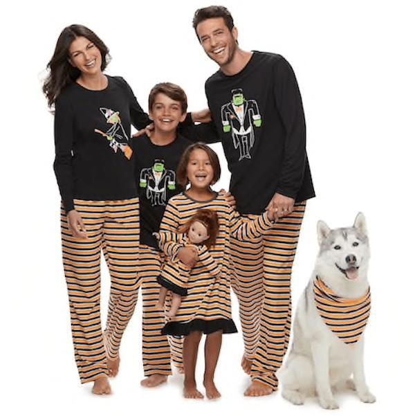 Family Matching Halloween Jammies