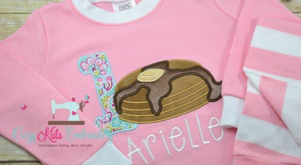 Family Matching Pancake, Donut and Cupcake Pajamas