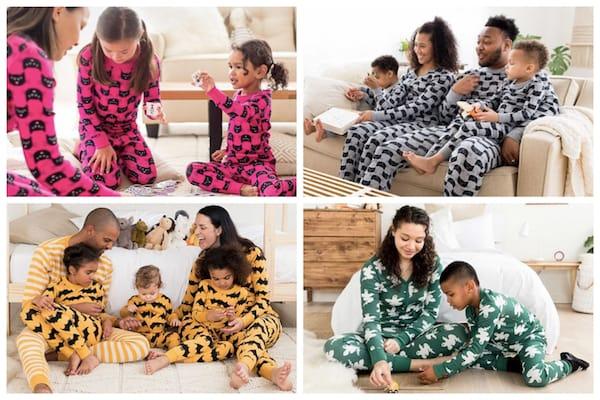 Happy Hannas Family Matching Halloween PJs