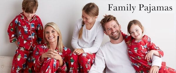 The Company Store Family Matching Pajamas