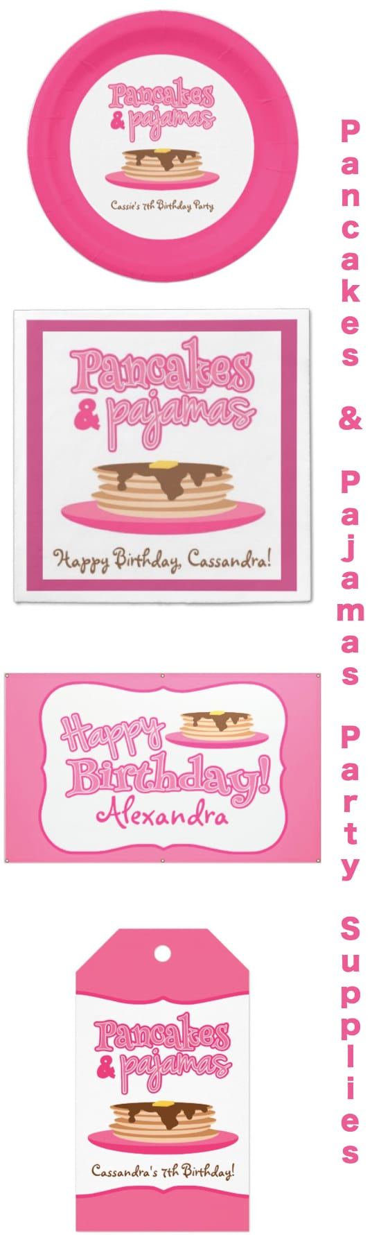 Pancakes and Pajamas Party Supplies