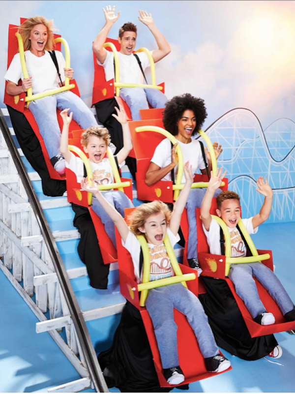 Family Matchng Roller Coaster Halloween Costumes