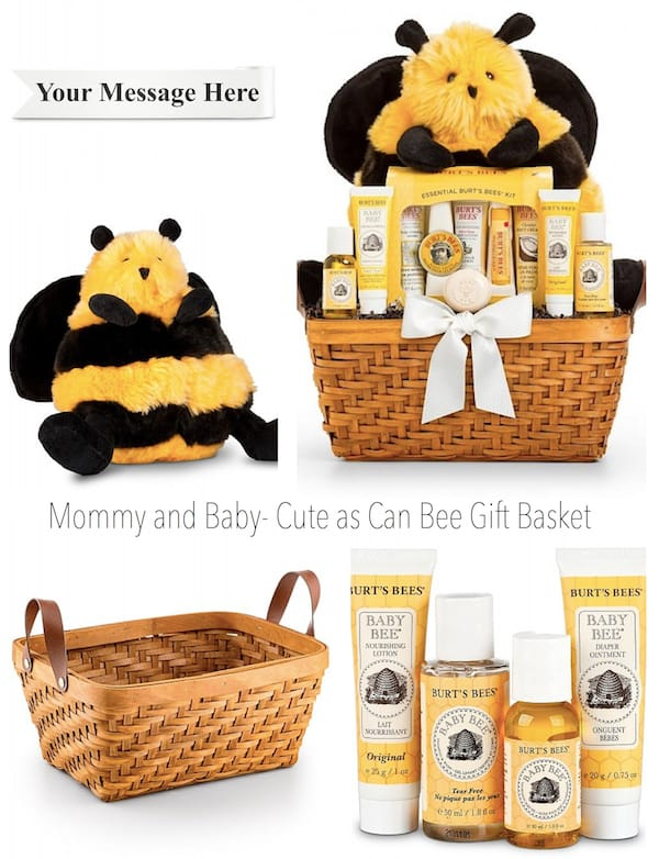 Mommy and Baby Cute as Can Bee Gift Basket