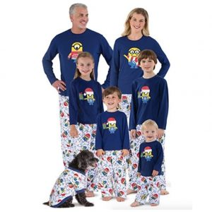 Despicable Me Minion Family Pajamas