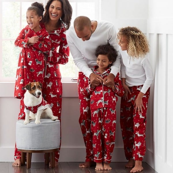 Family Matching Dog Pajamas