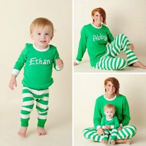 Etsy Personalized Christmas Pajamas Family Holiday Matching