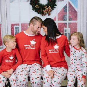 Family Christmas Santa Pajamas