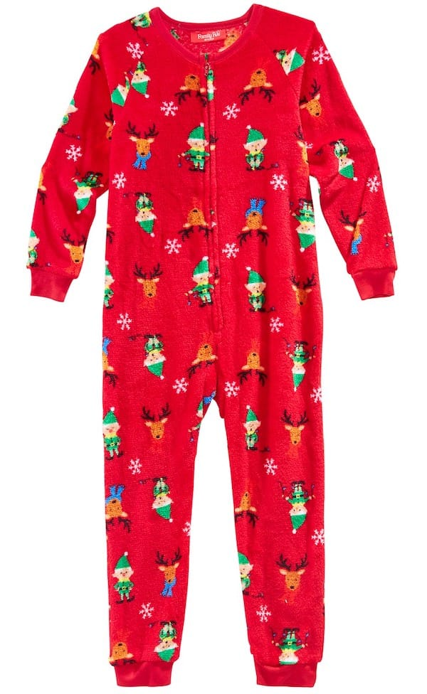 Cozy Elf Pajamas