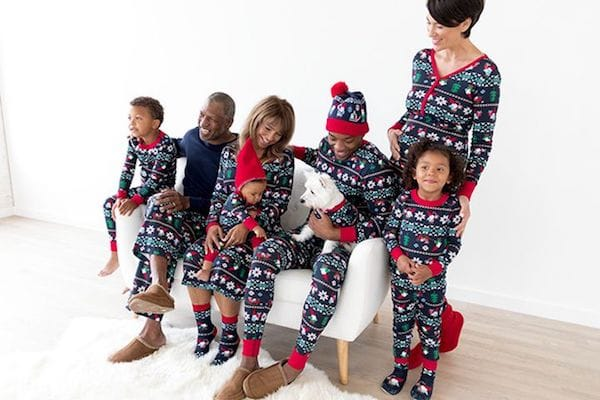 Family Matching Gnome Sweet Gnome Christmas Pajamas