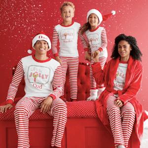 Family Matching Personalized Jolly Elf on the Shelf Pajamas