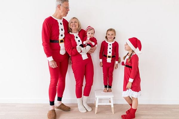 Matching Family Santa suit Christmas Pajamas