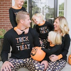 Family Matching Trick or Treat Halloween Pajama