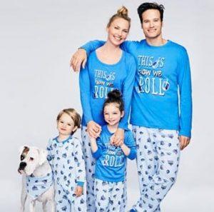 Family Dreidel Hanukkah Pajama Sets